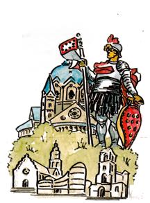 Zeichnung: Alfred Book, Neuss 2013